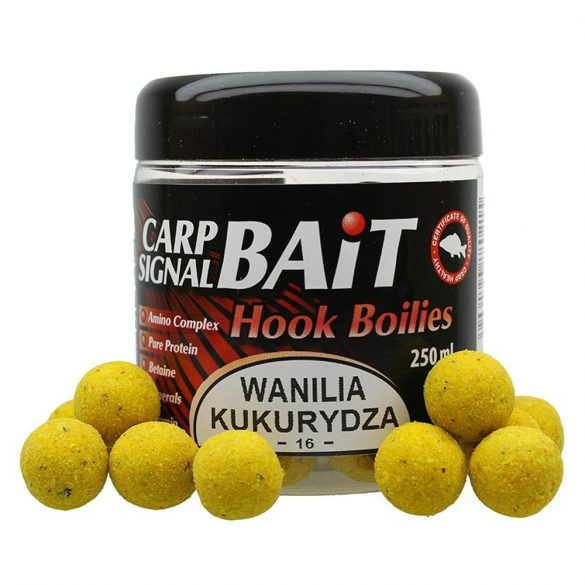 Carp Signal 16/20mm POP UP Vanília-Kukorica 250ml