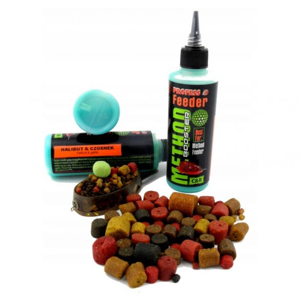 Method Feeder Booster 100ml Halibut-Fokhagyma